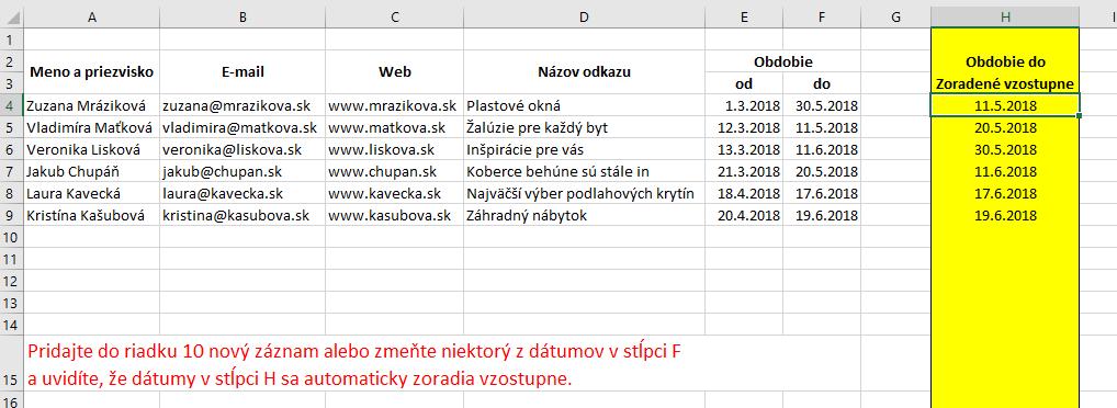 Obrázky pre dátumové údaje webových stránok
