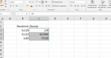 Ako naformátujem bunku na zlomky, tak aby mohla mať aj 5 číslic v menovateli aj v čitateli ?