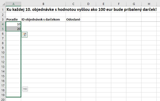 9aa8b12b63 Ako odoslať s každou 10. objednávkou nad 100 eur darček  - Pohodová ...