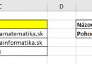 Ako zmením hodnoty vyhľadané cez VLOOKUP na funkčné hypertextové odkazy?